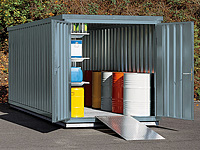 Umweltlagercontainer